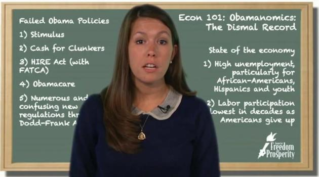 Obamanomics: The Dismal Record