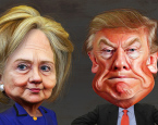 Donald Trump and Hillary Clinton: The Tweedledee and Tweedledum of Statism?