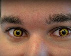 Horror: Pirate Contact Lenses!