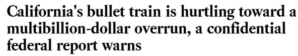 California Pork Train Headline