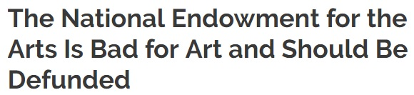 the arts should be supported through the national endowment for the arts Analysis of the national endowment of the arts kansas abstract the debate concerning the federal government's role in the support of the arts had lasted for.