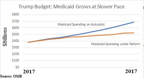Trump Budget Medicaid Savings