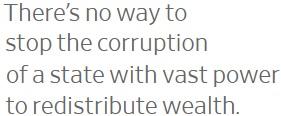 Big Government Enables Big Corruption